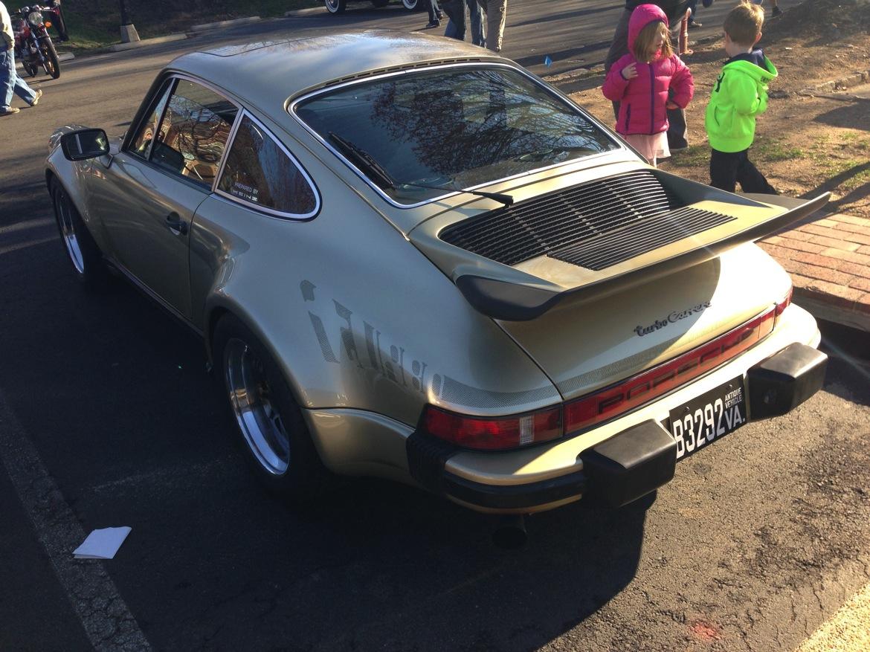 911 classic turbo back