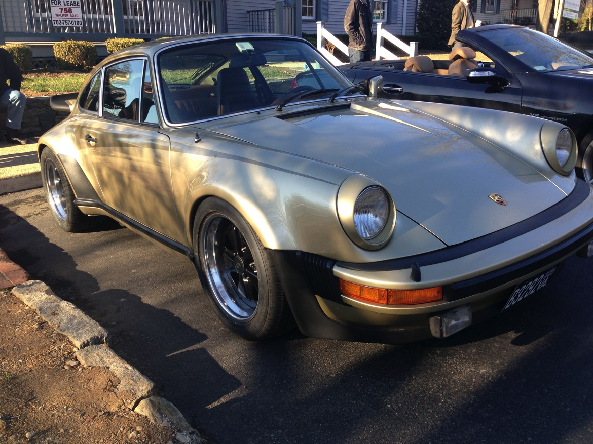 911 classic turbo front