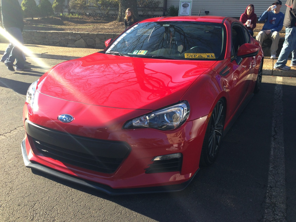 Brz lowered red